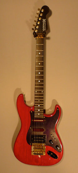 The mutant - Fender Body/Graphit Hals