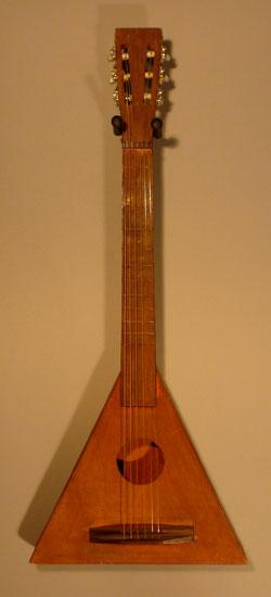 Gitarre aus dem Werkunterricht ;-)